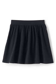 Girls Gathered Solid Skort