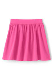 Girls Plus Gathered Solid Skort