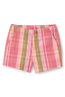 Girls' Printed Chino Shorts