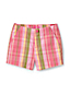 Little Girls' Printed Chino Shorts