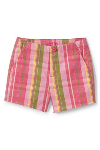 85a1a38fe1a Little Girls  Printed Chino Shorts