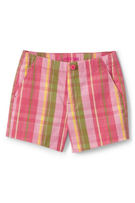 Girl Plus Pattern Chino Shorts