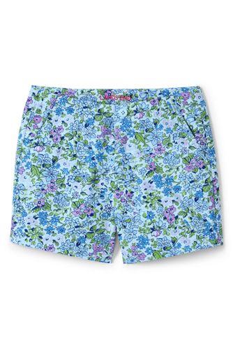 Girls' Printed Chino Shorts