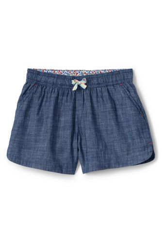 Le Short Chambray en Coton, Fille