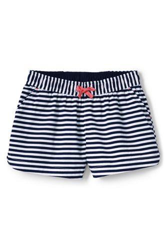 Gestreifte Schlüpf-Shorts aus Baumwolltwill für Baby Mädchen