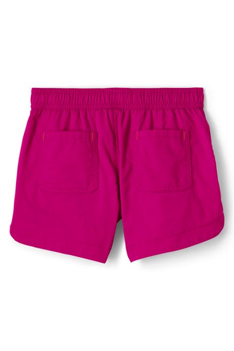 Girls Solid Pull On Shorts