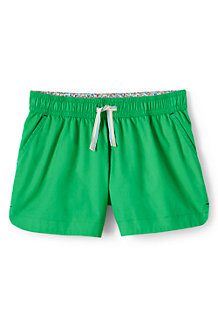 Girls' Shorts in Cotton Twill
