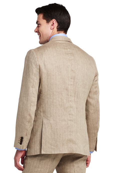 Men's Tailored Fit Baird McNutt Linen Suit Jacket