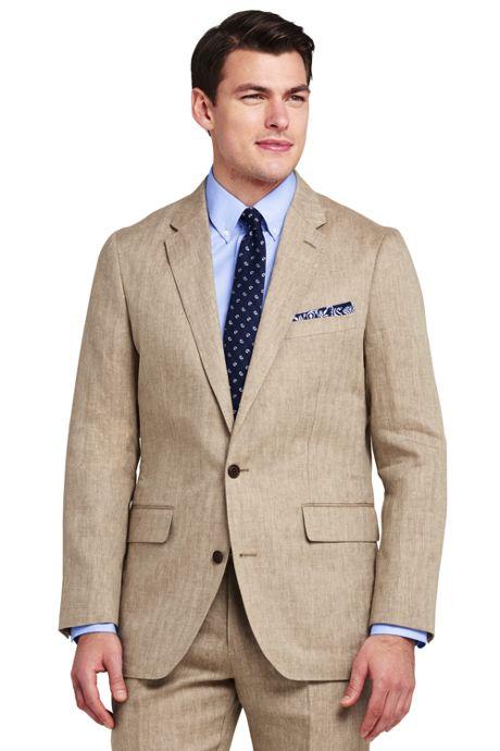 Men's Tailored Fit Baird McNutt Linen Suit Jacket