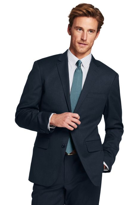Men's Tailored Wool Gabardine Sport Coat