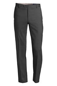Men's Tailored Fit Plain Front Year'rounder Trousers