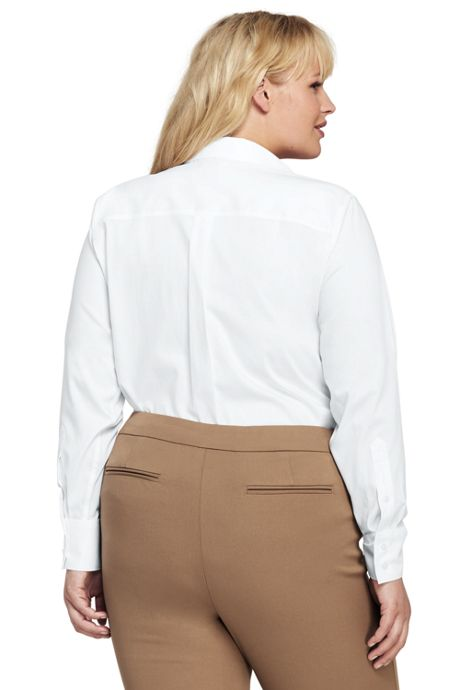 Women's Plus Size Easy Care Classic Shirt