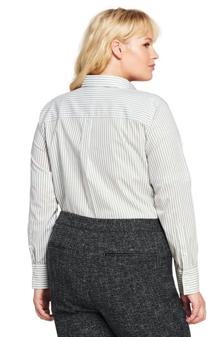 Women's Plus Size Easy Care Classic Shirt