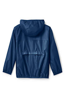 Kids Waterproof Rain Jacket, Back