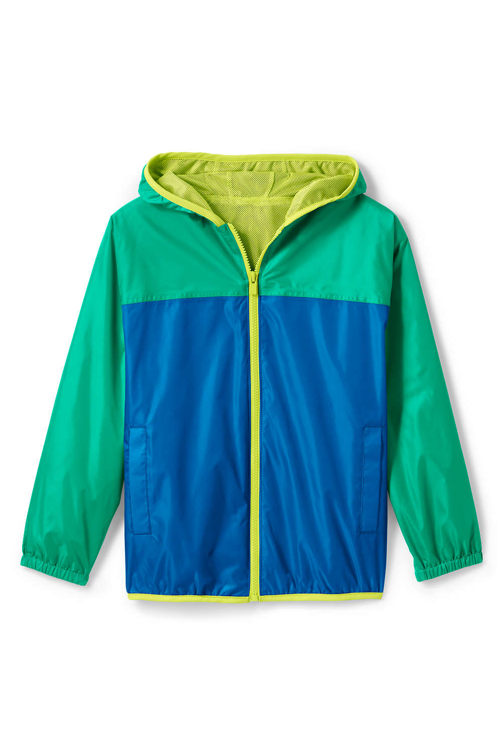 537f92beb Kids Waterproof Rain Jacket from Lands  End