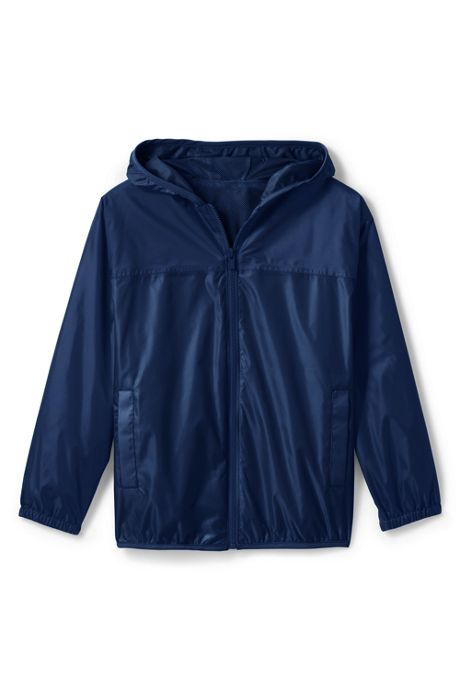 School Uniform Toddler Kids Waterproof Rain Jacket