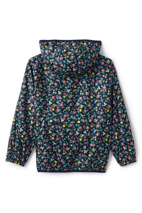 Kids Waterproof Print Rain Jacket