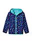 Little Kids' Patterned Packable Waterproof Jacket