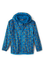 Little Kids Waterproof Print Rain Jacket