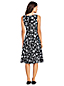 Women's Print V-neck Ponte Jersey Dress