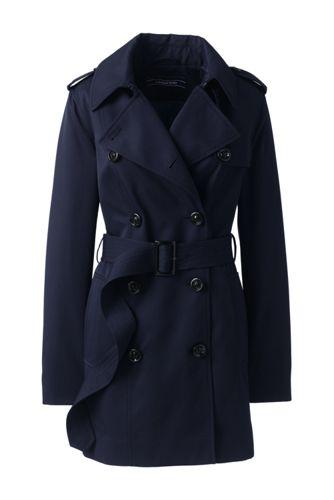 Women's Short Trench Coat