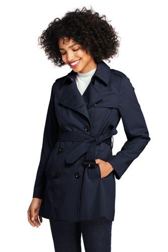 Kurzer Trenchcoat für Damen in Petite-Größe