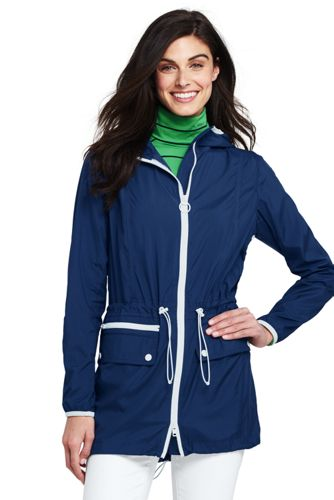 Ultraleichter Regenparka mit Packfach für Damen