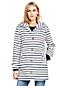 Women's Striped Rain Coat
