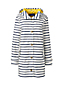Women's Striped Rain Coat