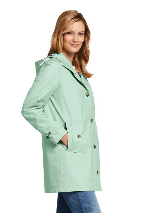 Women's Petite Classic Raincoat