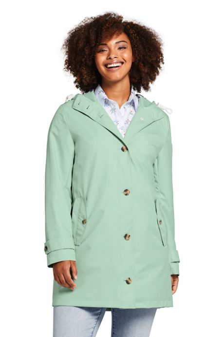 Women's Plus Size Classic Raincoat