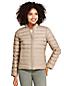 La Veste Réversible à Motifs Ultra-Légère en Duvet, Femme Stature Haute