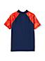 Le T-Shirt de Bain Col Montant Zippé, Petit Garçon