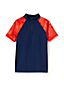 Little Boys' Zip-neck Rash Vest