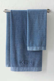 Stonewash Cotton Bath Towel