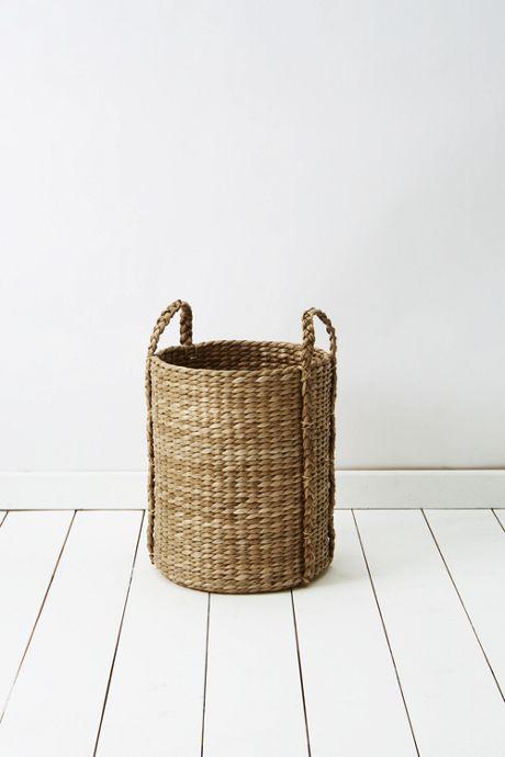 Seagrass Round Basket