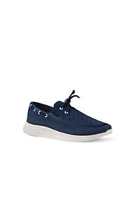 Womens Slip-on Trainers - 7 - Green Lands End dxweRBju