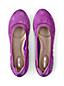 Les Ballerines Confort Élastiquées, Femme Pied Standard