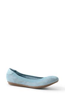 6221127c57f1 Women s Comfort Ballet Pumps in Suede or Leather