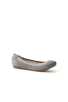 Canvas-Ballerinas - Schwarz - 37 von Lands' End