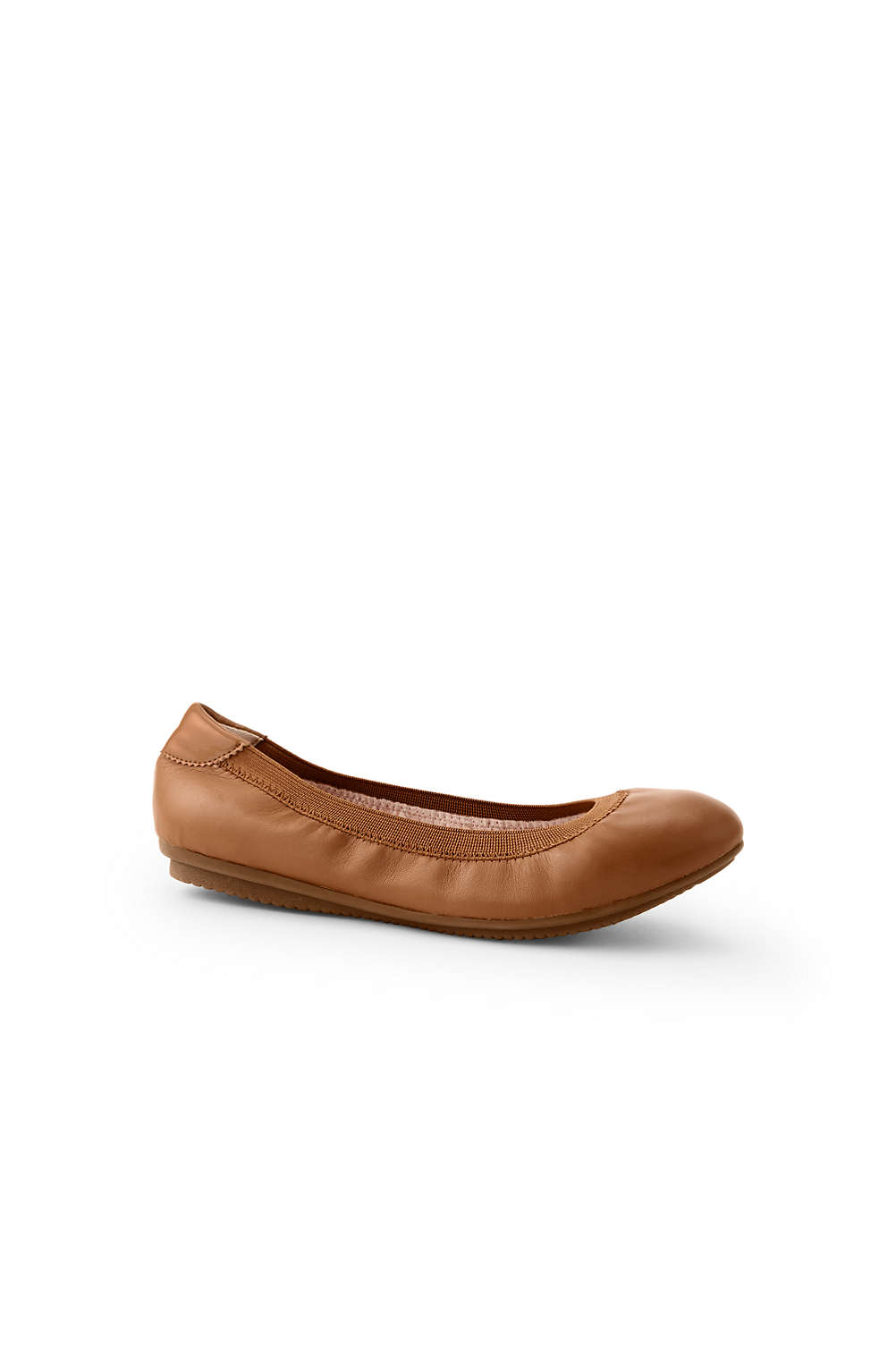 3a1b1860df2a9 Womens Wide Comfort Elastic Ballet Flats from Lands' End