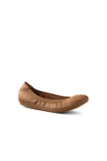 Women's Comfort Ballet Pumps in Suede or Leather