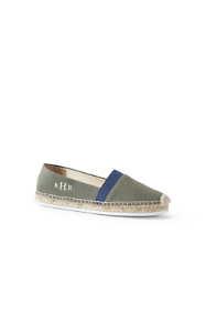 Women's Elastic Espadrille Shoes