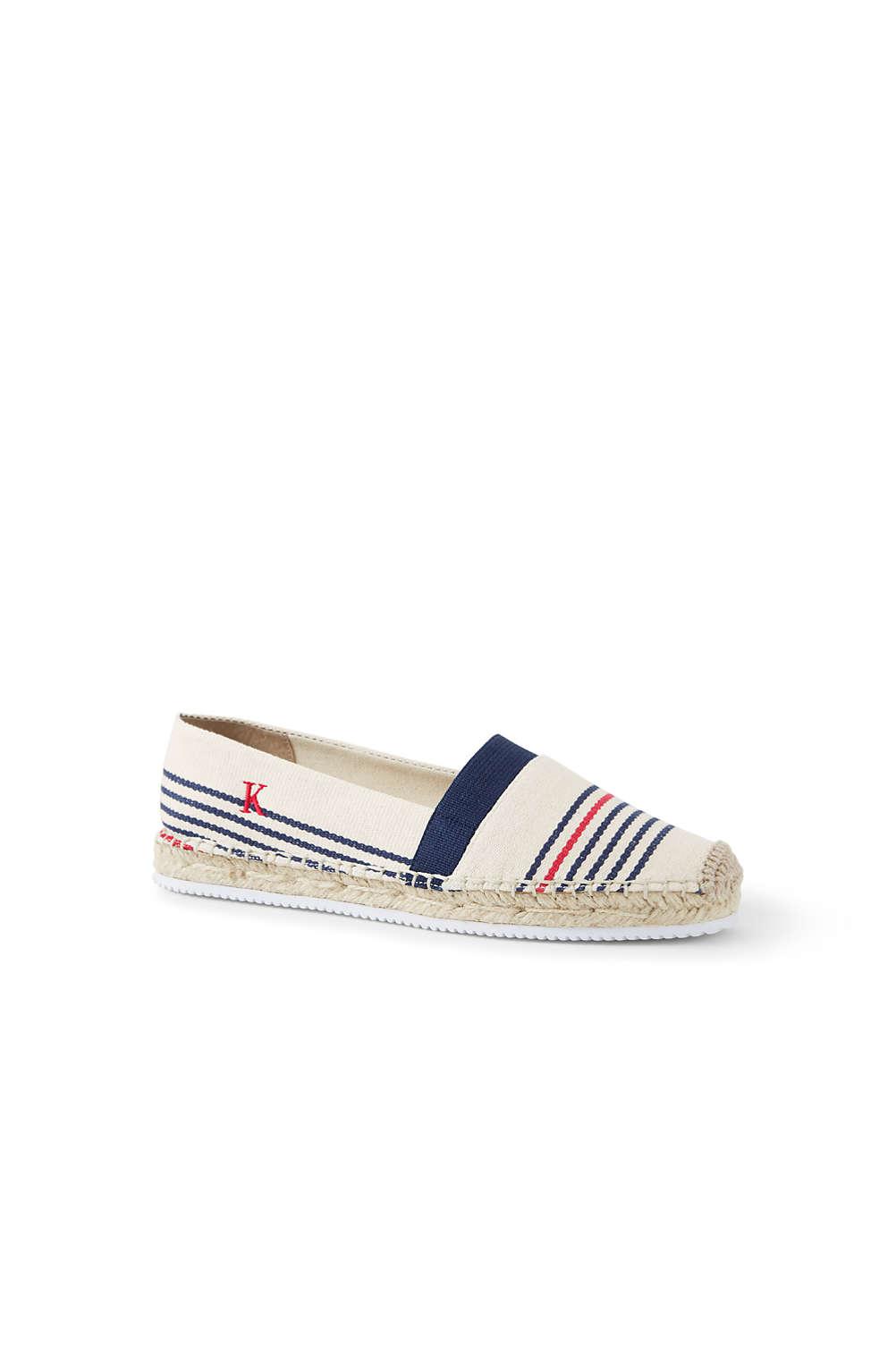 ce3f3d88e93 Women's Elastic Espadrille Shoes from Lands' End