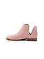 Women's Cutaway Suede Ankle Boots