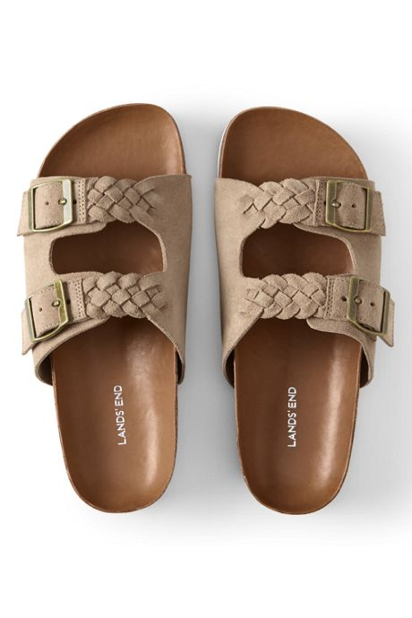 Women's Braided Slide Sandals