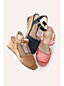 Women's Scalloped Wedge Sandals