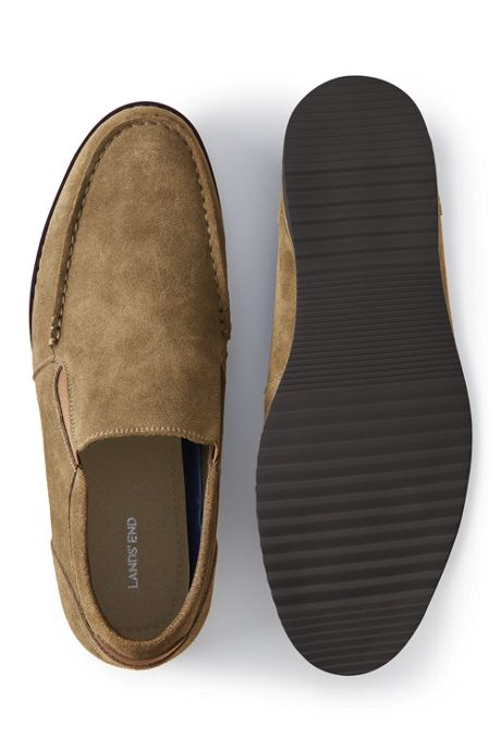 Men's Comfort Suede Leather Slip On Loafer Shoes