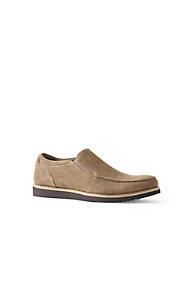 Mens Regular Lightweight Comfort Oxford Lace-up Shoes - 7.5 - BROWN Lands End fYBtS