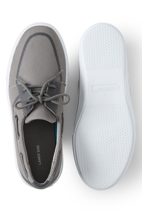 Men's Lightweight Mesh Boat Shoes